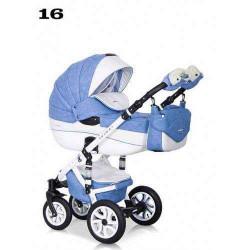 16 - Детская коляска Riko Brano Ecco 3 в 1