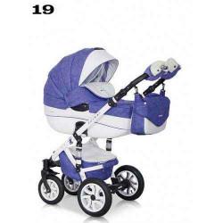 19 - Детская коляска Riko Brano Ecco 3 в 1