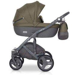 olive-3 - Детская коляска Riko Vario 3 в 1