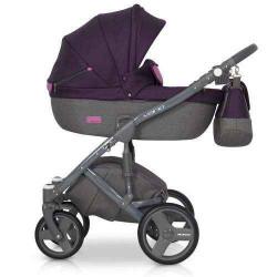 purple-4 - Детская коляска Riko Vario 3 в 1