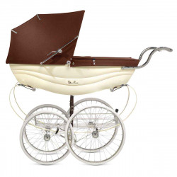 Cream/Brown - Детская коляска Silver Cross Balmoral