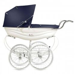 White/Navy - Детская коляска Silver Cross Balmoral