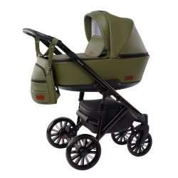 Green - Детская коляска DeLorean Smart 3 в 1