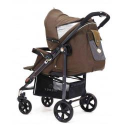 Brown - Детская коляска Zooper Z9 Java