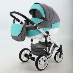 BF-9 - Детская коляска BeBe-Mobile Fabiola 3 в 1