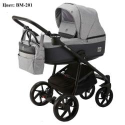 BM-201 - Детская коляска BeBe-Mobile Marino 3 в 1