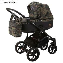 BM-207 - Детская коляска BeBe-Mobile Marino 3 в 1