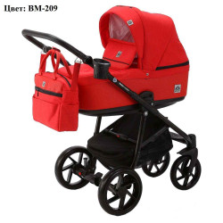 BM-209 - Детская коляска BeBe-Mobile Marino 3 в 1