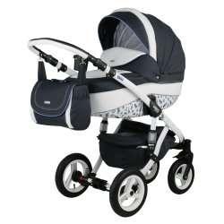 1PL - Детская коляска Bebe-Mobile Mario Paris London 3 в 1