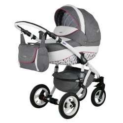3PL - Детская коляска Bebe-Mobile Mario Paris London 3 в 1