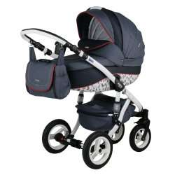 7PL - Детская коляска Bebe-Mobile Mario Paris London 3 в 1