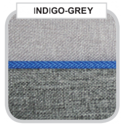 Indigo Grey - Детская коляска Bebe-Mobile Toscana Rainbow Collection 2 в 1