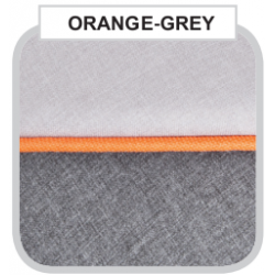 Orange Grey - Детская коляска Bebe-Mobile Toscana Rainbow Collection 3 в 1