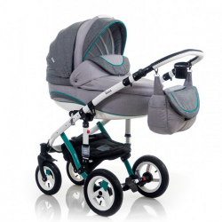 Mint - Детская коляска Bebe-Mobile Toscana Rainbow Collection 2 в 1