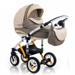 Yellow - Детская коляска Bebe-Mobile Toscana Rainbow Collection 2 в 1