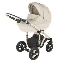 828S - Детская коляска BeBe-Mobile Toscana Ecco кожа 3 в 1