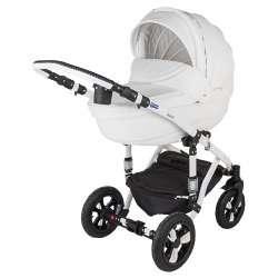 10S - Детская коляска BeBe-Mobile Toscana Ecco кожа 3 в 1