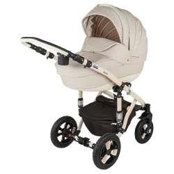 11S - Детская коляска BeBe-Mobile Toscana Ecco кожа 2 в 1