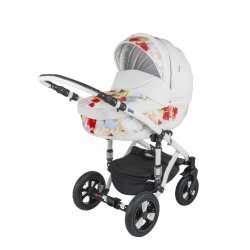 1S - Детская коляска BeBe-Mobile Toscana Ecco кожа 2 в 1