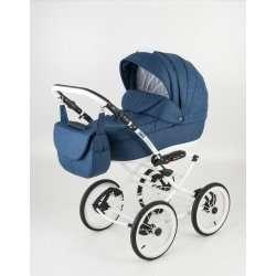 80L-biala - Детская коляска Bebe-Mobile Santana 3 в 1