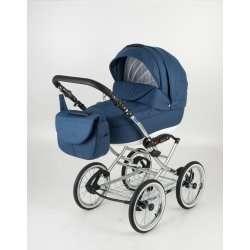 80L-chrome - Детская коляска Bebe-Mobile Santana 3 в 1