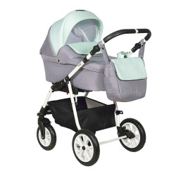 Ch-35 - Детская коляска Indigo CHARLOTTE 2 в 1